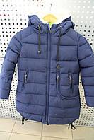Куртка для девочек зимняя KIKO ZZ4132 Синий