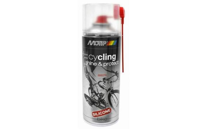 Аєрозоль для ухода за велосипедом MOTIP Cycling Shine & Protect, фото 2
