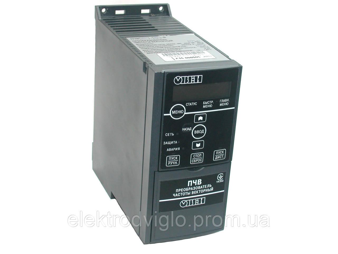 Преобразователь частоты Овен ПЧВ3-5К5-В-54 5,5кВт, фото 1