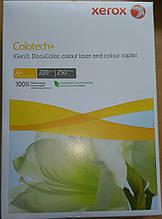 Бумага А4, плотная Colotech+ 220 г/м2, 250 листов. XEROX