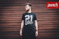 Футболка Punch- NEOGothic, Black, серая, мужская одежда