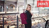 Рюкзак Punch - Crypt, Burgundy, магазин сумок