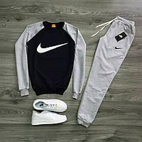 Спортивный костюм,кофта и штаны, трикотажный M