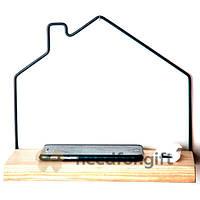 Мини полка для ключей и телефона «Дом»