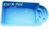 Стекловолоконный бассейн  Star Pool Della 6,30x3,25x1,55 м, фото 1