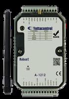 Модуль A-1212, 2AI(0/4-20mA), 2AI(PT100/1000 :-200...+600°C), 2DI, 2AO(0/4-20mA), 2DO(n-p-n), Wi-Fi, ...