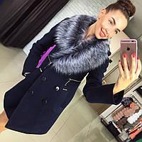 Пальто утепленное Лора