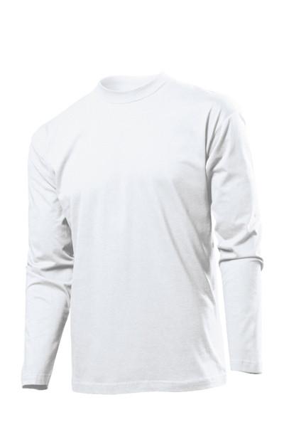 Футболки с длинным рукавом Stedman Classic Long Sleeve Men белые