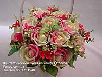"""Букет из конфет""""Бархатные розы""""№15"""