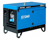 Дизельный генератор SDMO Diesel 10000 Е AVR Silence