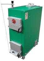 Котел твердотопливный ENERGUS BATgaz 15 кВт, КПД 85%. Водотрубная решетка.