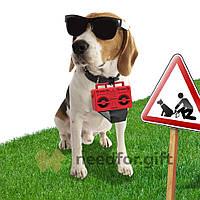 Держатель пакетиков для выгула собак Boom Dog Rocketdesign (Красный)
