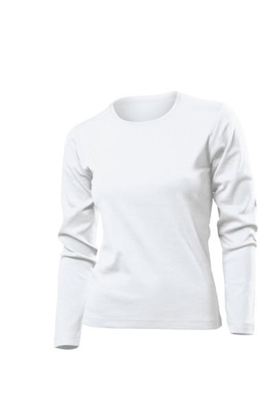 Футболки з довгим рукавом Stedman Comfort LSL woman білі