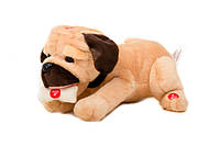 Собака mp 0858  интеракт,лает,скулит,дает лапу,ложится,разобр,на бат-ке,в кор-ке,28-25-18см