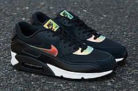 Женские кроссовки Nike Air Max 90 Premium Iridescent/Black , фото 1
