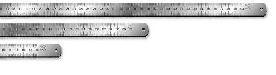 Линейка 100 см\1м. металлическая №7042