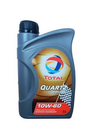 """Масло моторное  TOTAL 182162  """"QUARTZ RACING 10W-60"""", 1л , фото 2"""