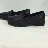 Женские осенние туфли кожа