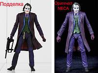 Подделки фигурок NECA Batman Joker Superman