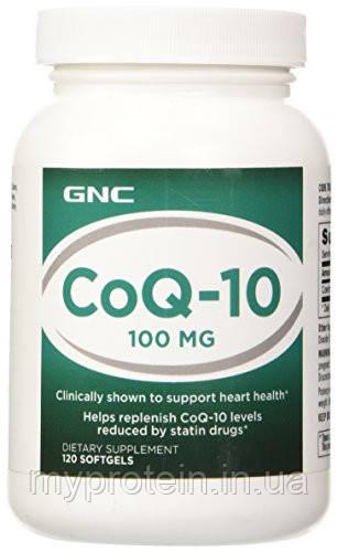 GNC Коэнзим CoQ-10 100 mg 120 softgels
