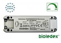 Электронный диммируемый трансформатор Bioledex без минимальной нагрузки 12В 0-70Вт