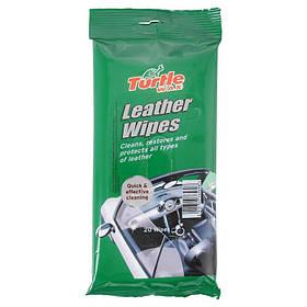 Салфетки для кожи Turtle Wax Leather Wipes