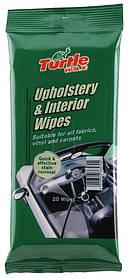 Салфетки для тканевой обивки салона Turtle Wax Upholstery & Interior Wipes