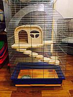 Клетка Люси деревянный домик
