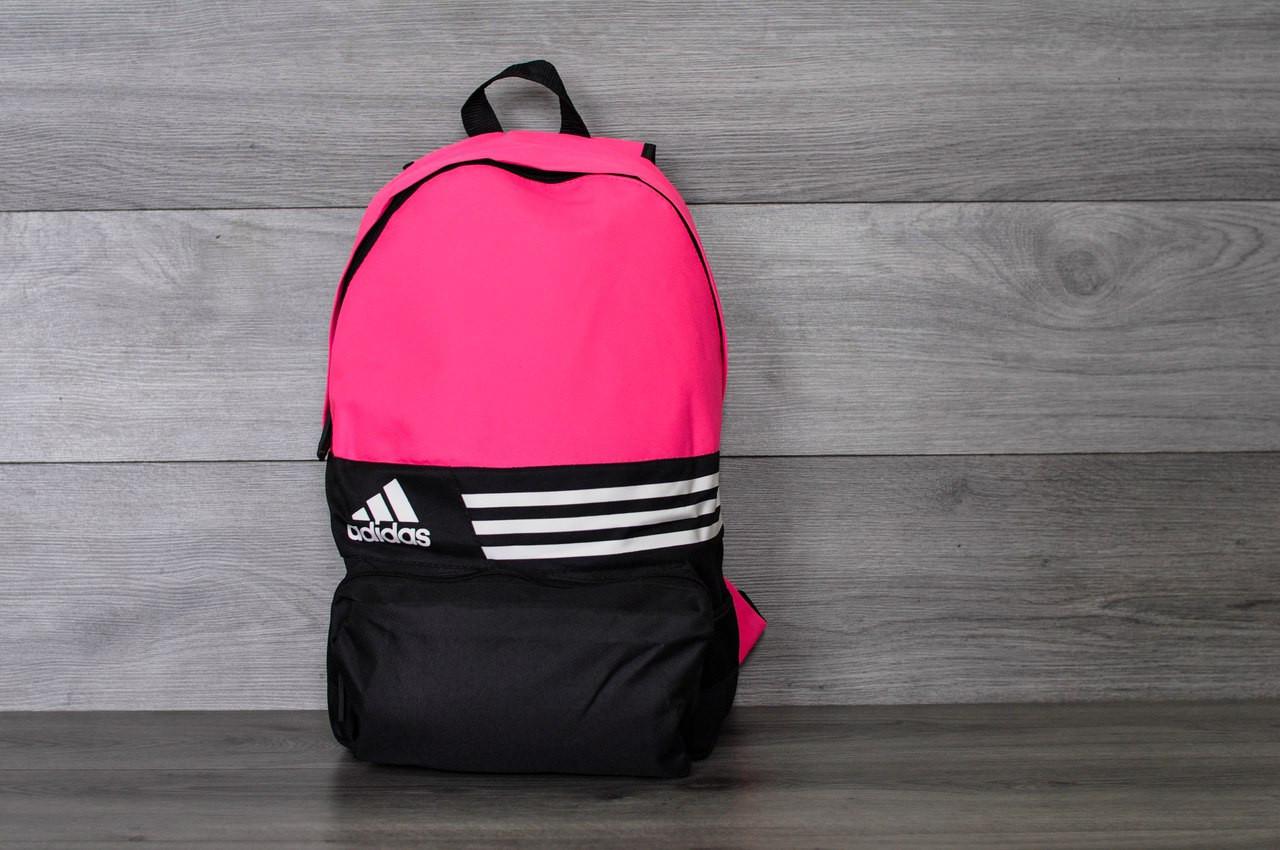Розовый рюкзак Adidas, магазин рюкзаков