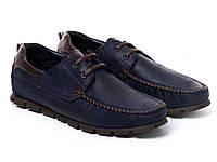 Мокасины Etor 13651-16654-150 45 синие, фото 1