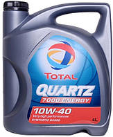 Масло моторное Total  Quartz Energy 7000 10W-40, 4 л
