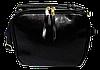 Сумка женская черная кожаная на молнии FFN-017180