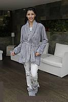 Женская пижама и теплый халат Hays 6072. Коллекция одежды для дома HAYS Зима 2017