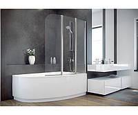 Шторка для ванны Ambition 3 123.5x139 Besco PMD Piramida (Польша)