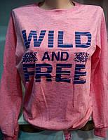 Батник демисезонный коттоновый женский Wild and Free