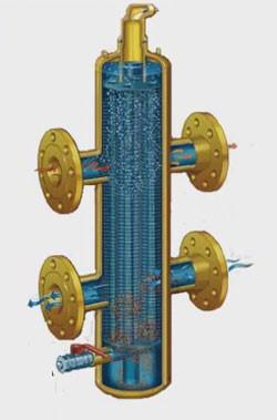 Фланцевая гидравлическая стрелка HSF 70-160-210-350 - 7650 кВт