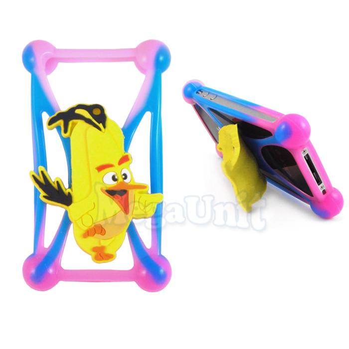 "Чехол-бампер для смартфонов 4"" - 5,3"" Angry Birds Chuck"