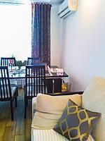 Портьеры и диванные подушки для гостиной / Ткани для штор Ridex Odeon