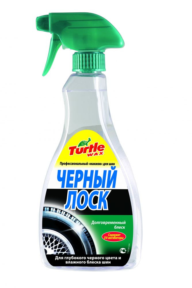 Черный лоск Turtle Wax Wet'N' Black