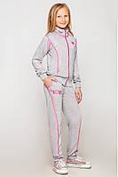 Модный трикотажный спортивный костюм для девочки.(122-152р)