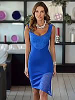 Коктейльное стильное платье  от  Lusien Q161