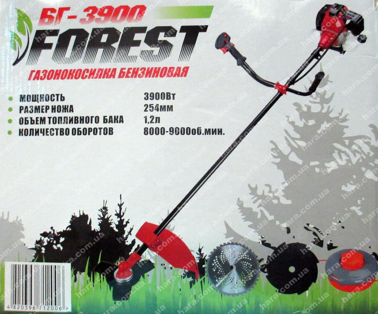 Бензокоса FOREST БГ-3900