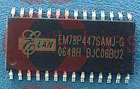 Микроконтроллер Elan EM78P447SAMJ-G SOIC28