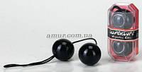 Вагинальные шарики «Duotone Balls» черные