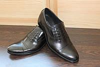 Мужские классические туфли натуральная кожа размеры 39-45
