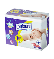 Подгузники Toujours 1 (2-5 кг) 24 шт