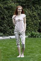 Женская пижама футболка и капри Hays 6003. Коллекция одежды для дома HAYS Зима 2017