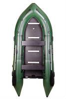 BARK BN-390S киевлянка килевая моторная надувная лодка ПВХ Шестиместная жесткий разборной настил