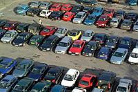 Парковка целых авто под продажу