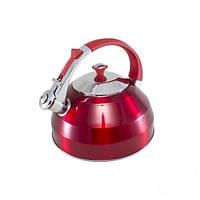1155-S STAHLBERG Чайник для кипячения воды 2,7л  (нерж. сталь) 1155-S